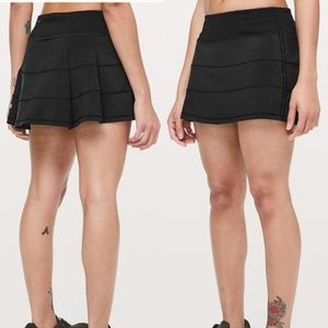 Lululemon Pace Rival Skirt II in Black